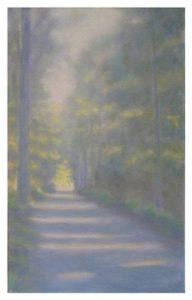 Herbstlicher Waldweg, 2012, 50 x 80