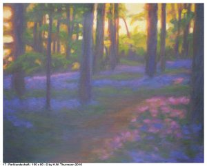 Parklandschaft - 2016 - 100 x 80