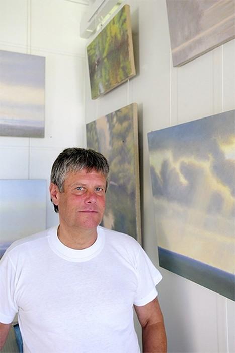 Hans Werner Thurmann aus Moers studierte unter anderem bei Joseph Beuys an der Düsseldorfer Kunstakademie. Foto: Klaus Dieker
