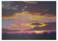1 - Abendhimmel - 140x100 - © 2007 by H. W. Thurmann