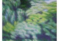 1 - Bäume im Wind - 100x100 - © 2000 by H. W. Thurmann - VERKAUFT
