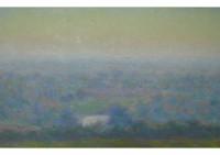3 - Blick von der Bergehalde am Morgen - 30x35 - © 2008 by H. W. Thurmann