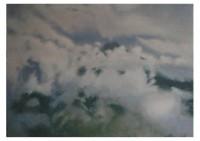 4 - Berg in den Wolken - 140x100 - © 2010 by H. W. Thurmann