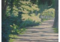 5 - Parkweg - 80x60 - Malgrund Canvas - © 2012 by H. W. Thurmann