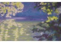 7 - Sonne am Wasser - 50x30 - © 2006 by H. W. Thurmann