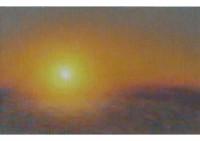 7 - Sonnenaufgang im Winter - 40x24 - © 2008 by H. W. Thurmann