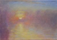 Sonnenaufgang - 50x35 - © 2017 H. W. Thurmann - VERKAUFT