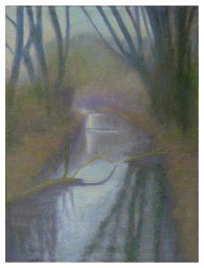 Moersbach im Frühjahr - 2013 - 60 x 80