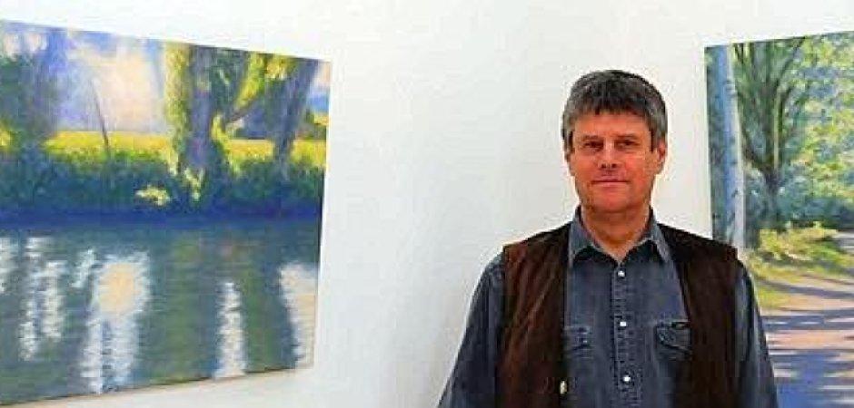 Kunstausstellung mit Hans Werner Thurmann im Peschkenhaus Moers. Foto:Gisela Weißkopf/WAZFotoPool