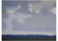 10 - Waldrand mit Wolkenhimmel - 80x60 - © 2006 by H. W. Thurmann