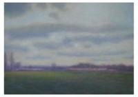 11 - Spätnachmittag im Frühjahr - 50x35 - © 2008 by H. W. Thurmann