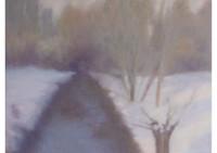 12 - Winter am Moersbach - 80x60 - © 2013 by H. W. Thurmann