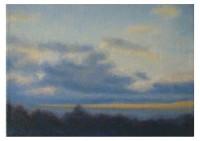 17 - Wolkenhimmel im Frühjahr - 50x35 - © 2008 by H. W. Thurmann