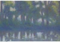 2 - Bäume am Wasser - 40x24 - © 2014 by H. W. Thurmann