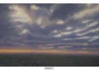 2 - Dunkle Wolken über Hüls - 80x50 - © 1996 by H. W. Thurmann - VERKAUFT