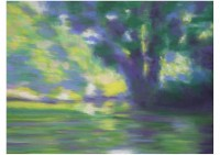 2 - Flusslandschaft (Variation)- 80x60 - © 2001 by H. W. Thurmann
