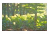 26 - Im grünen Wald - 24x15 - Holz - © 2013 by H. W. Thurmann