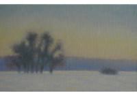 3 - Bäume im Schnee - 50x30 - © 2010 by H. W. Thurmann
