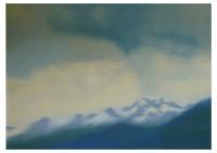 3 - Wolken über dem Berg - 140x100 - © 2001 by H. W. Thurmann