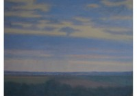 6 - Bewölkter Himmel über Aldekerk - 80x60 - © 2010 by H. W. Thurmann