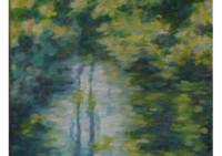 7 - Blick in den Bach bei Sonne - 35x50 - © 2010 by H. W. Thurmann