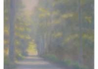 8 - Herbstlicher Waldweg - 50x80 - © 2012 by H. W. Thurmann